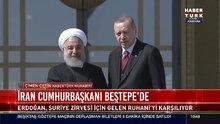 İran Cumhurbaşkanı Beştepe'de