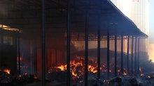 Diyarbakır'da fabrika yangını