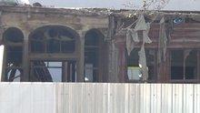Metruk binada 8 adet patlamamış el bombası bulundu