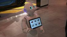 İtalya'nın ilk robot satış elemanı