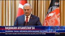 Başbakan Afganistan'da