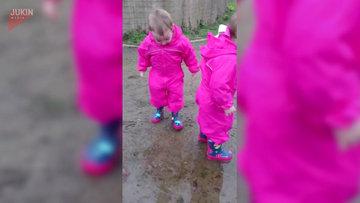 ikizlerin çamurla imtihanı