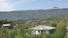 Teröristlerden temizlenen Balkaya Dağları rengarenk