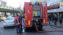 Mecidiyeköy'de iş hanında yangın paniği