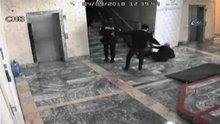 ATO'daki kavga anı güvenlik kamerasında