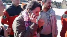 Uludağ'da kaybolan genç bulundu, yakınları gözyaşlarına boğuldu