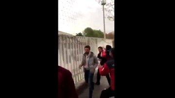 Galatasaraylı taraftarlara çirkin saldırı!