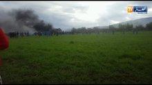 Cezayir'de 100'den fazla kişiyi taşıyan askeri uçak düştü!