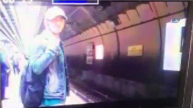 Marmaraya Trenin Altına Böyle Atladı!