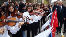 Cumhurbaşkanı Erdoğan Tuna Nehri şarkısını söyledi