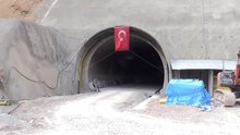Eğribel Tüneli'nde ışığa 50 metre