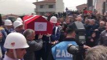 Şehit Jandarma Uzman Çavuş Ahmet Baş son yolculuğuna uğurlandı