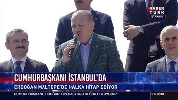 Cumhurbaşakanı Erdoğan İstanbul'da