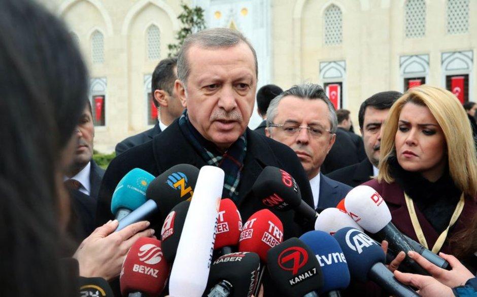 Erdoğan'dan olaylı derbi yorumu: Burada bir kumpas var