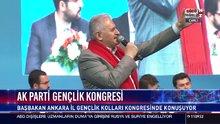 Başbakan Binali Yıldırım Ankara İl Gençlik Kolları Kongresinde konuşuyor
