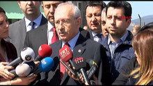 Kılıçdaroğlu, partisinin tutuklu milletvekili Enis Berberoğlu'nu Maltepe Cezaevi'nde ziyareti sonrası açıklama yaptı