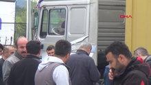 TIR'da uyuyan sürücü öldü