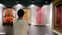 Cumhurbaşkanı Erdoğan'ın kişisel koleksiyonundan oluşan sergi açıldı