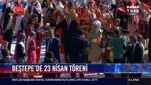 Beştepe'de 23 Nisan töreni