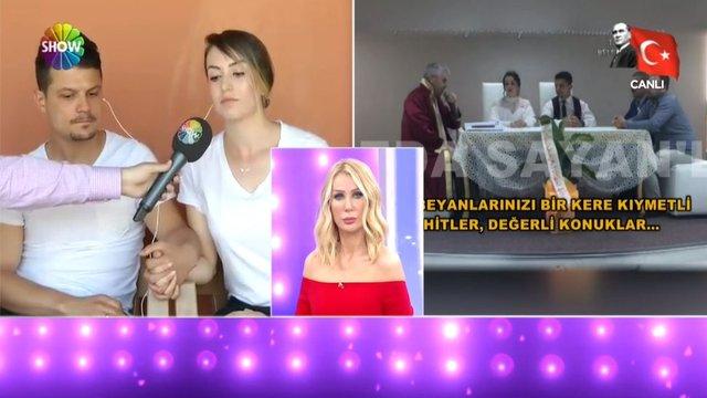 Türkiye'nin konuştuğu nikahta evlenmeyen çift canlı yayında!