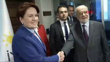 Karamollaoğlu, Akşener'i ziyaret etti