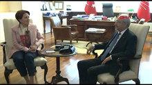 İYİ Parti Genel Başkanı Meral Akşener, CHP Genel Başkanı Kılıçdaroğlu ile görüştü