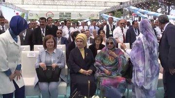 """Emine Erdoğan: """"Şu anda 79 ülkeye tohum ihracatı yapan bir ülkeyiz"""""""