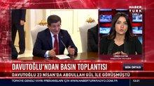Davutoğlu'ndan basın toplantısı