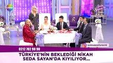 Türkiye'nin beklediği nikah Seda Sayan'da kıyıldı