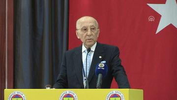 Fenerbahçe Kulübü Yüksek Divan Kurulu Başkanı Vefa Küçük'ün konuşması 1
