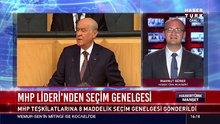MHP Lideri'nden seçim genelgesi