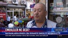Emekliler ikramiyeye ne dedi?