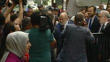 Karamollaoğlu adaylık başvurusu için YSK'ya geldi
