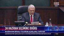 Başbakan Binali Yıldırım grup kararını açıkladı