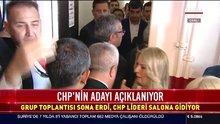 CHP Lideri salona giriyor