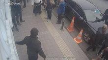 Beykoz'da değnekçi dehşeti kamerada