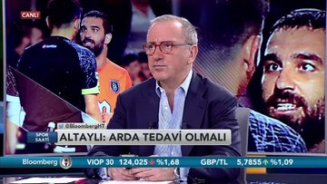 """Fatih Altaylı: """"Arda Turan hekim kontrolünde tedavi edilmeli, bu ayıp değil, denemeli."""" - Part 2 (07.05.2018)"""