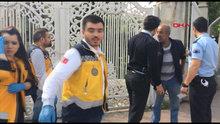 Beşiktaş'ta polis ve sağlık ekibinin zor anları