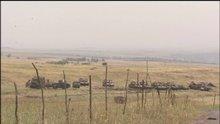 İsrail Golan'a askeri sevkiyat yapıyor