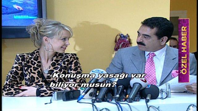İmparator İbrahim Tatlıses'in eski eşi Ayşegül Yıldız Hey Canlı'ya konuştu!