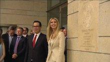 Ivanka Trump Kudüs Büyükelçiliğinde