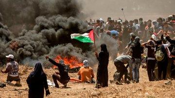 İsrail askerleri Filistinlilere gerçek mermiyle ateş açtı