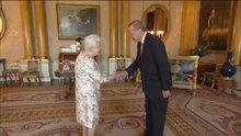 Cumhurbaşkanı Erdoğan Kraliçe II. Elizabeth ile görüştü