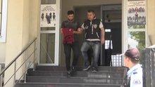 Ülkesinde eli kesilen Iraklı hırsızlık iddiasıyla yakalandı