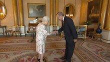 Cumhurbaşkanı Erdoğan Kraliçe Elizabeth ile görüştü