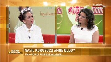 Burası Haftasonu - 13 Mayıs 2018 - (Simay Bülbül Sarıpınar )