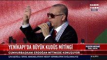 Cumhurbaşkanı Erdoğan Yenikapı Miting'de konuştu