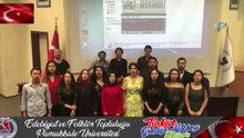 Türkiye Gençliğe Hitabe'yi okuyor