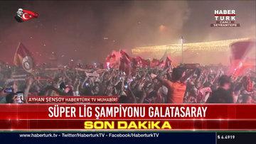 Galatasaray, 21. kez şampiyon!