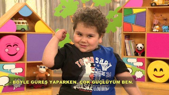 Çitos Efe güreşçi olmak istiyor!
